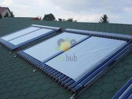 Prelata panou solar cu 10-20 de tuburi