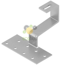 Suport inox pentru acoperis tigla (fix)