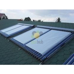 Prelata panou solar cu 24-30 de tuburi