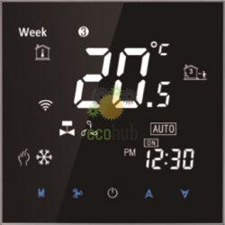 Termostat digital black LCD touch screen